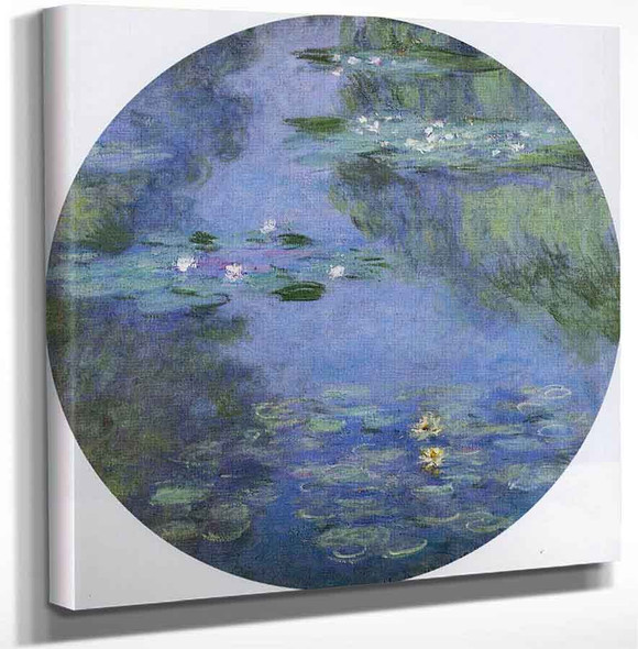 Water Lilies56 By Claude Oscar Monet Art Reproduction