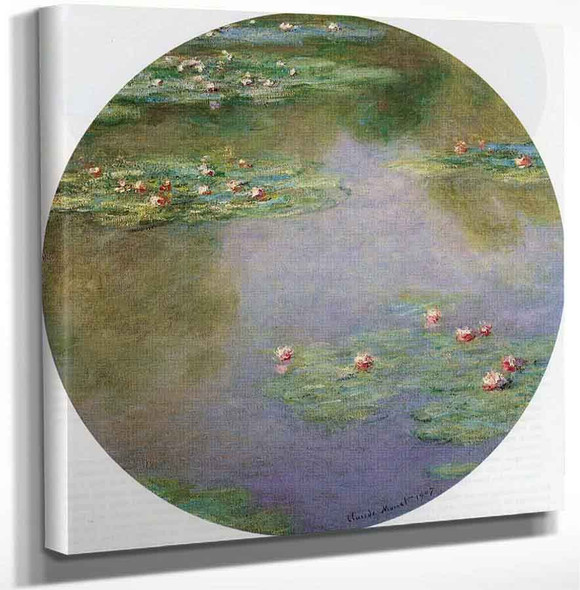 Water Lilies6 By Claude Oscar Monet Art Reproduction