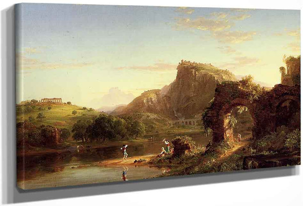L'allegro By Thomas Cole By Thomas Cole
