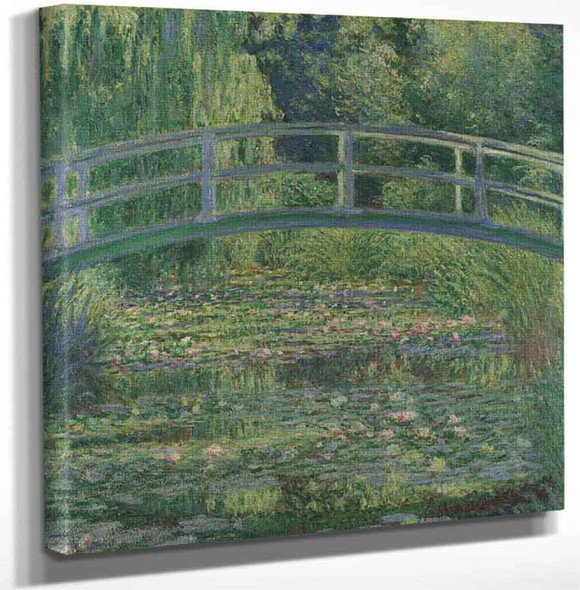 Water Lily Pond1 By Claude Oscar Monet Art Reproduction
