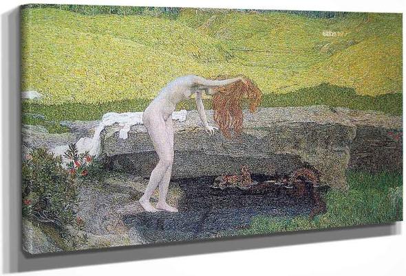 La Vanita By Giovanni Segantini