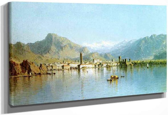 Lago Di Garda, Italy By Sanford Robinson Gifford