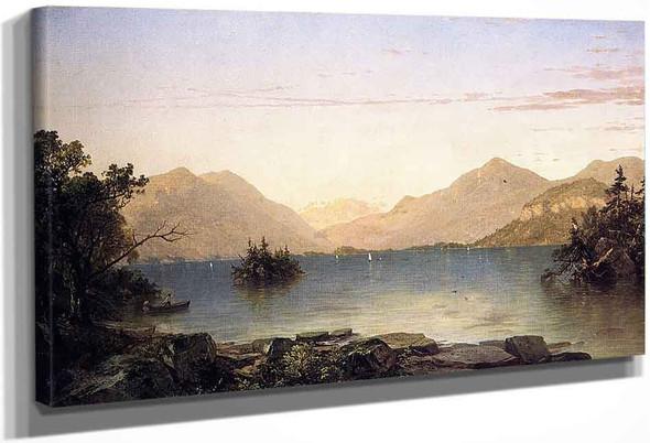 Lake George1 By John Frederick Kensett By John Frederick Kensett