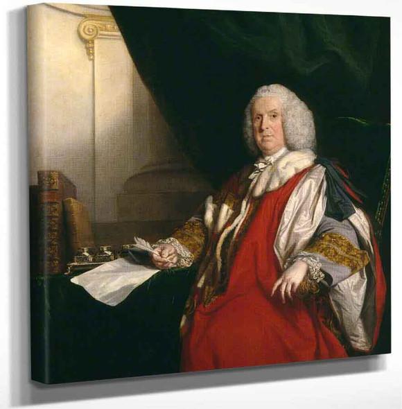 William Pulteney 1St Earl Of Bath By Sir Joshua Reynolds Art Reproduction