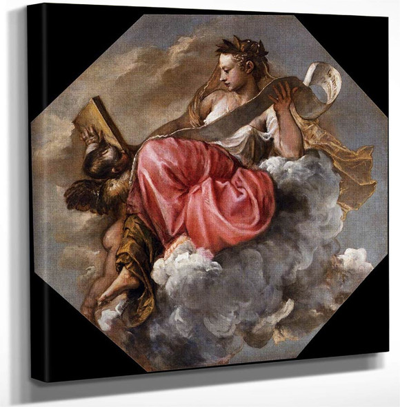 Wisdom By Titian Art Reproduction