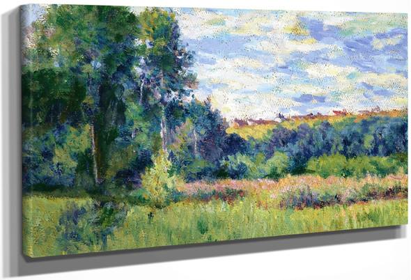 Landscape2 By Maximilien Luce By Maximilien Luce