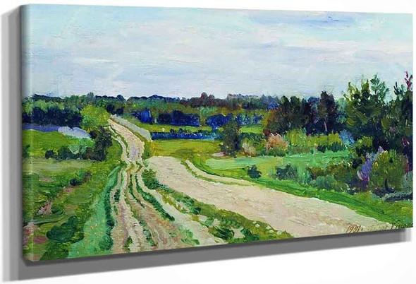 Landscape By Sergei Arsenevich Vinogradov Russian 1869 1938