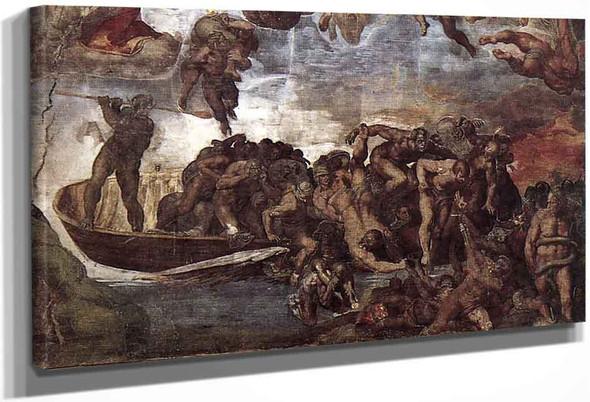 Last Judgment 19 By Michelangelo Buonarroti By Michelangelo Buonarroti