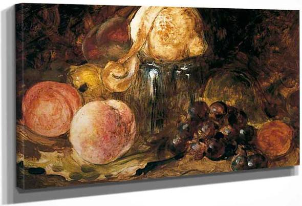 Lemons, Peaches And Nuts By William Etty By William Etty