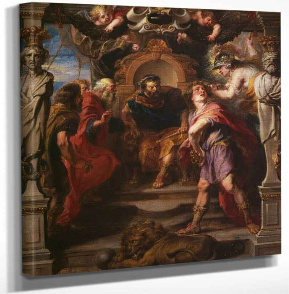 Wrath Of Achilles By Peter Paul Rubens Art Reproduction