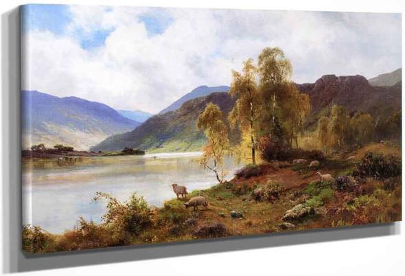 Loch Katrine By Alfred De Breanski, Sr.