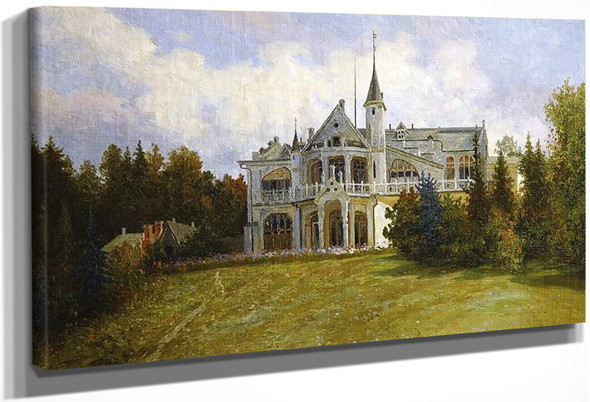 Mansion By Sergei Arsenevich Vinogradov Russian 1869 1938