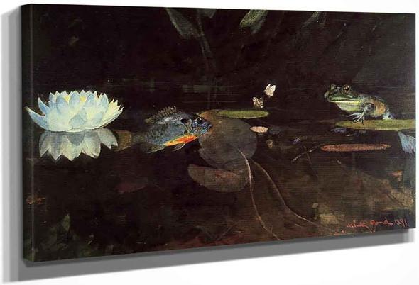 Mink Pond By Winslow Homer