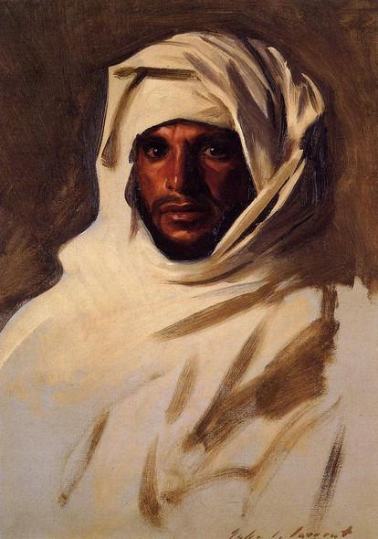 A Bedouin Arab By John Singer Sargent By John Singer Sargent