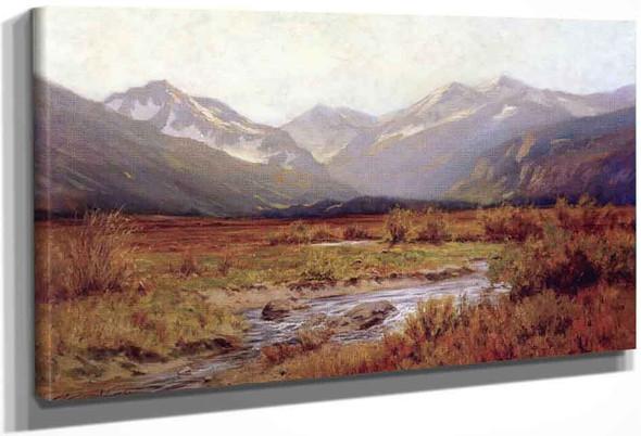 Moraine Park By Charles Partridge Adams By Charles Partridge Adams