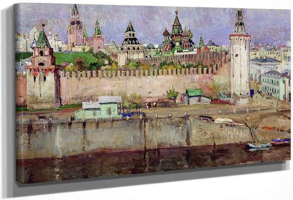 Moscow Kremlin By Sergei Arsenevich Vinogradov Russian 1869 1938