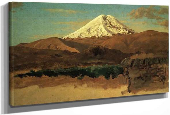 Mount Chimborazo, Ecuador 1 By Frederic Edwin Church By Frederic Edwin Church
