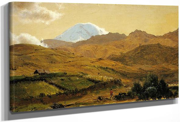 Mount Chimborazo, Ecuador By Frederic Edwin Church By Frederic Edwin Church