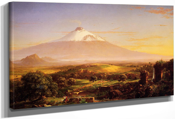 Mount Etna By Thomas Cole By Thomas Cole