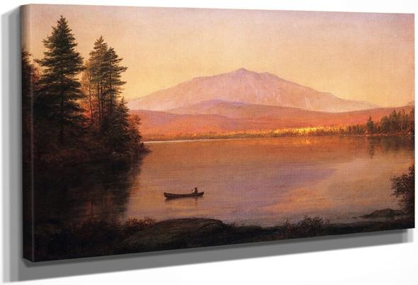Mount Katahdin From Millinocket Camp By Frederic Edwin Church By Frederic Edwin Church