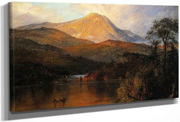 Mount Katahdin By Frederic Edwin Church By Frederic Edwin Church