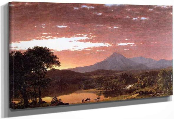 Mount Ktaadn By Frederic Edwin Church By Frederic Edwin Church