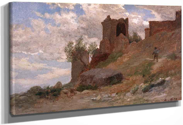 Mt. Colognola, Near Perugia By Elihu Vedder