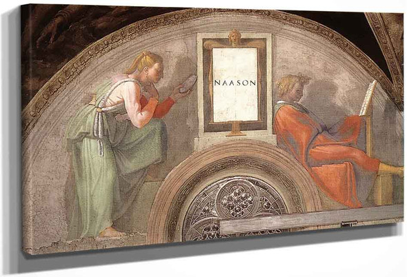 Nahshon By Michelangelo Buonarroti By Michelangelo Buonarroti