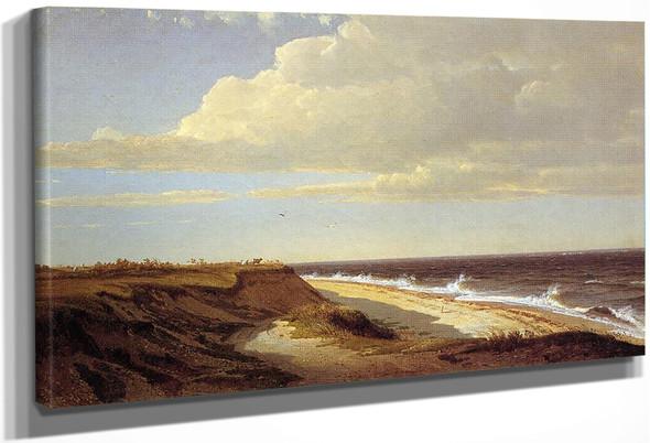 Nantucket By William Trost Richards By William Trost Richards