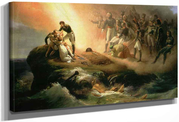 Napoleon's Tomb By Horace Vernet
