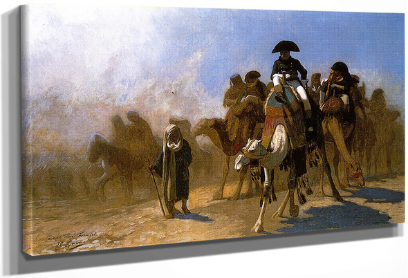 Napoleon And His General Staff In Egypt By Jean Leon Gerome