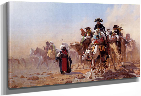 Napoleon And His General Staff By Jean Leon Gerome