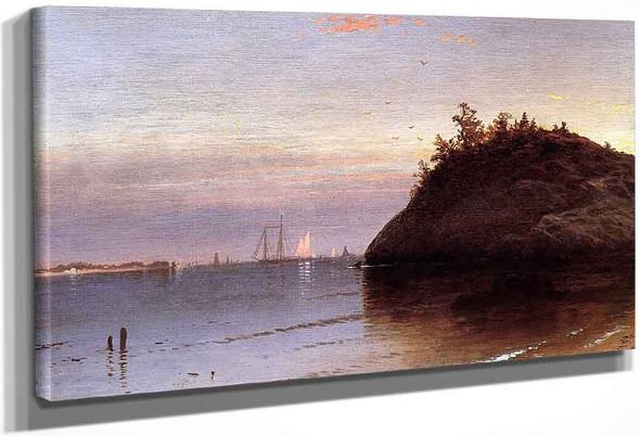 Narragansett Bay By Alfred Thompson Bricher