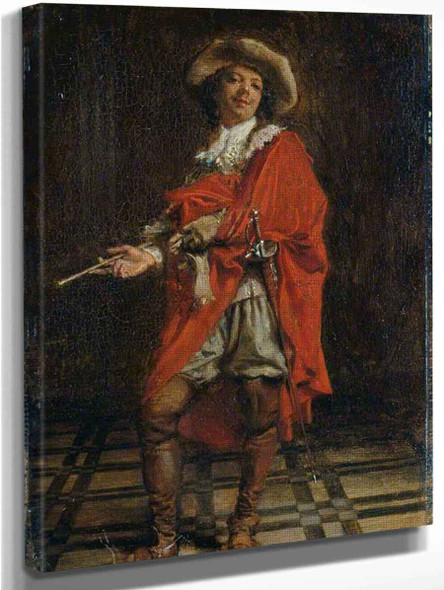 A Cavalier Time Of Louis Xiv By Jean Louis Ernest Meissonier