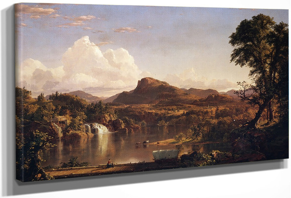 New England Scenery1 By Frederic Edwin Church By Frederic Edwin Church