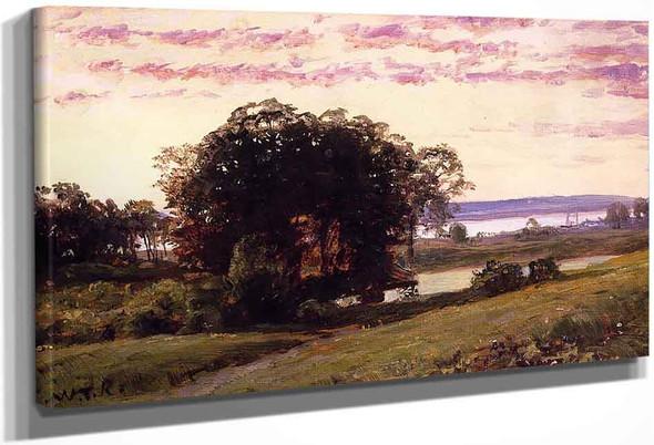 Newport By William Trost Richards By William Trost Richards