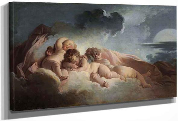 Night 1 By Jean Honore Fragonard
