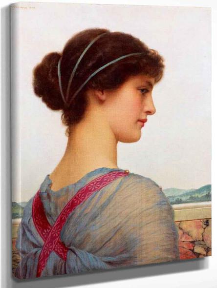 A Classical Beauty 2 By John William Godward