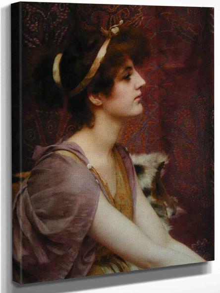 A Classical Beauty 33 By John William Godward
