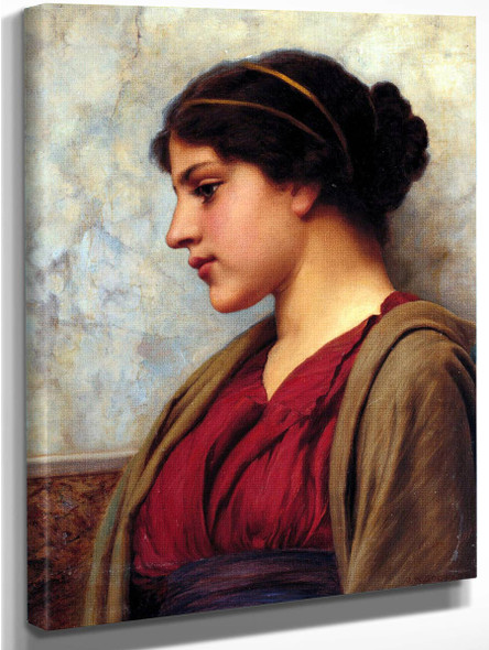 A Classical Beauty By John William Godward