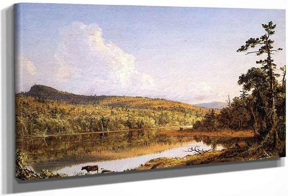 North Lake By Frederic Edwin Church By Frederic Edwin Church