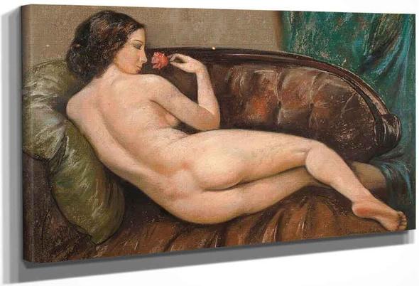 Nude By Sergei Arsenevich Vinogradov Russian 1869 1938