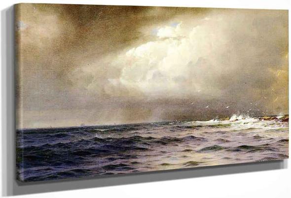 Ochre Point, Newport By William Trost Richards By William Trost Richards