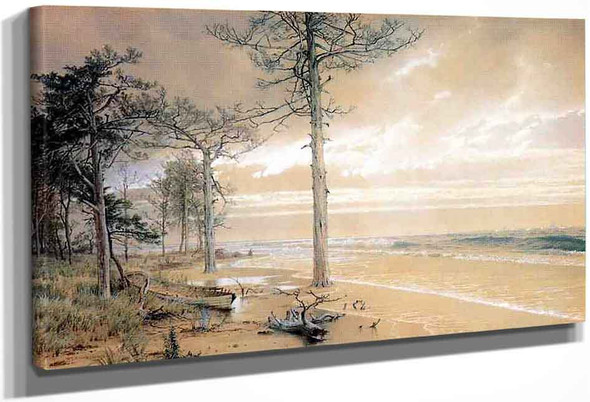 Off Atlantic City By William Trost Richards By William Trost Richards