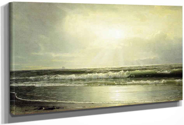 Off Newport By William Trost Richards By William Trost Richards