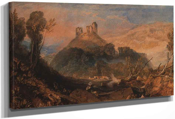 Okehampton By Joseph Mallord William Turner