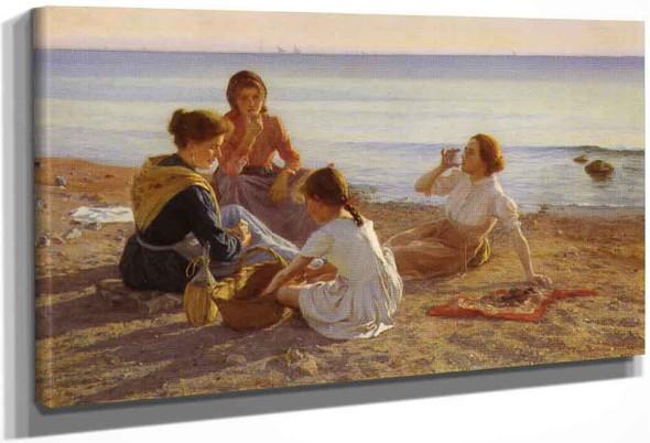 On The Beach By Elin Kleopatra Danielson Gambogi By Elin Kleopatra Danielson Gambogi
