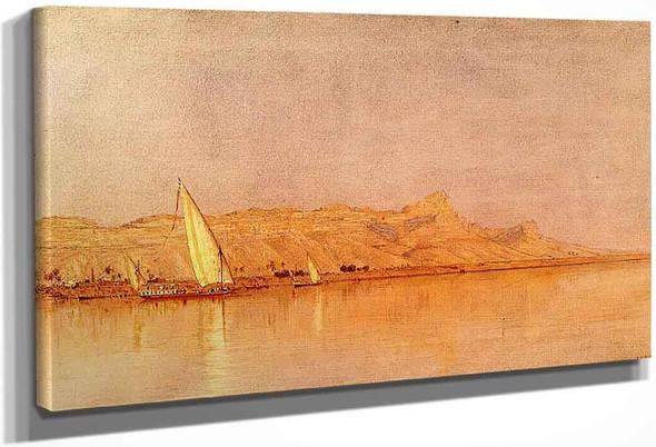 On The Nile, Gebel Shekh Hereedee By Sanford Robinson Gifford