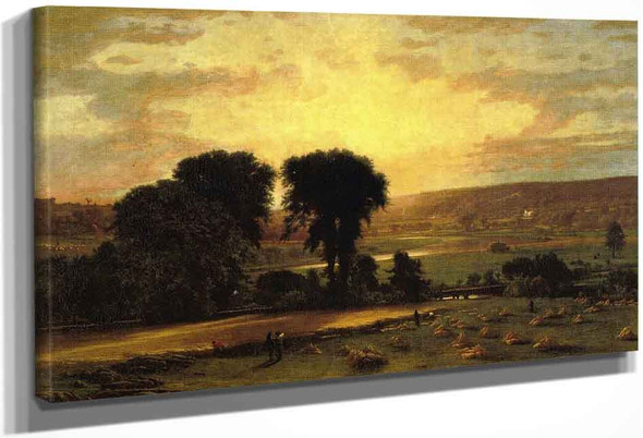 Peace And Plenty By George Inness By George Inness