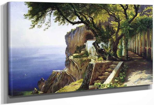 Pergola In Amalfi By Carl Frederik Peder Aagaard By Carl Frederik Peder Aagaard